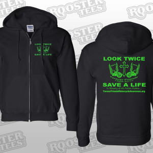 FFMA  Item# 12 Black Hoodie Org Design