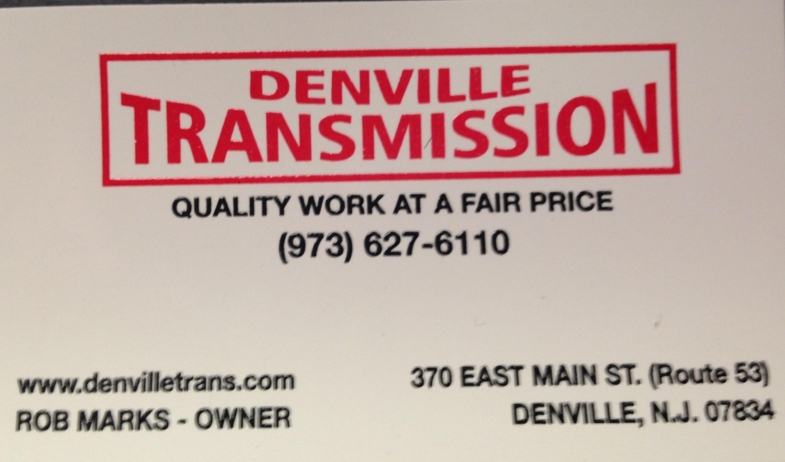 Denville Transmission