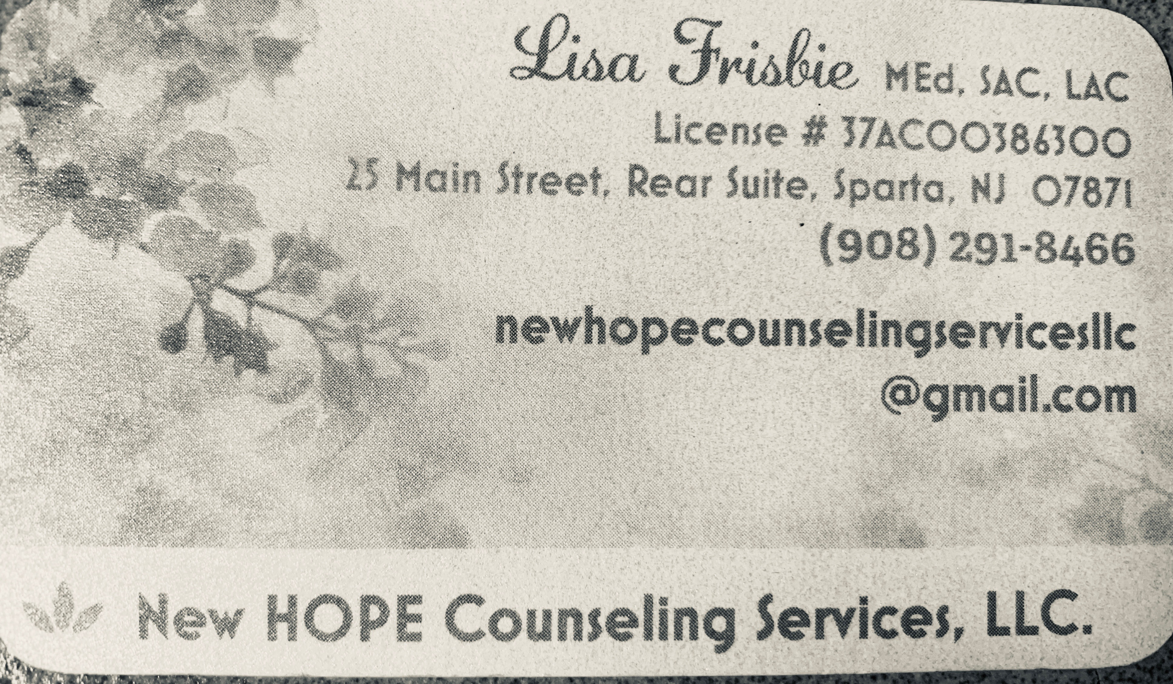 New Hope Counseling Services, LLC