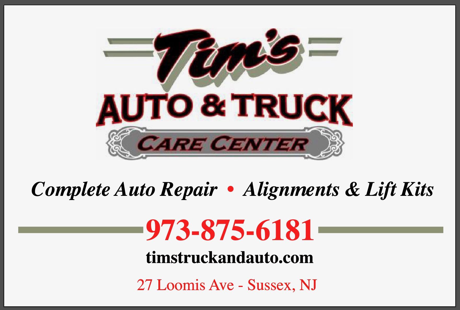 Tim's Auto Truck Care Center