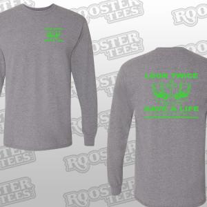 FOREVER.FRIEND.logo.sleeves.8400.hthr.grey.long or short